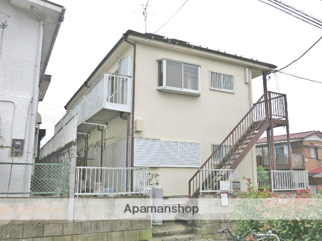 埼玉県入間市、仏子駅徒歩12分の築29年 2階建の賃貸アパート