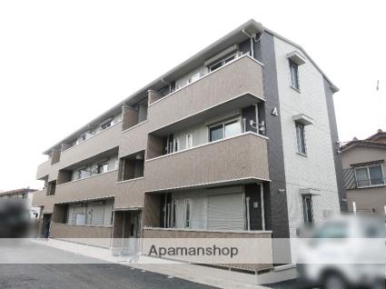 埼玉県入間市、狭山ヶ丘駅徒歩25分の築3年 3階建の賃貸アパート