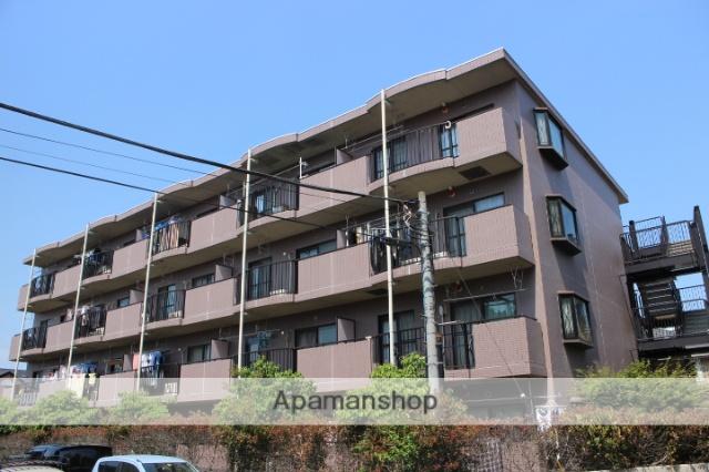 埼玉県入間市、仏子駅徒歩12分の築22年 4階建の賃貸マンション