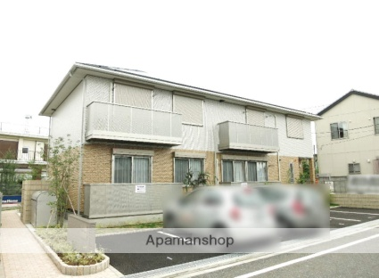 埼玉県飯能市、東飯能駅徒歩8分の築2年 2階建の賃貸アパート