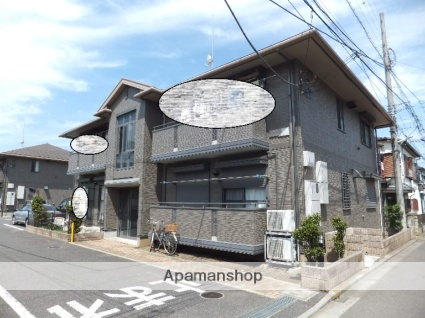 埼玉県狭山市、狭山市駅徒歩18分の築15年 2階建の賃貸アパート