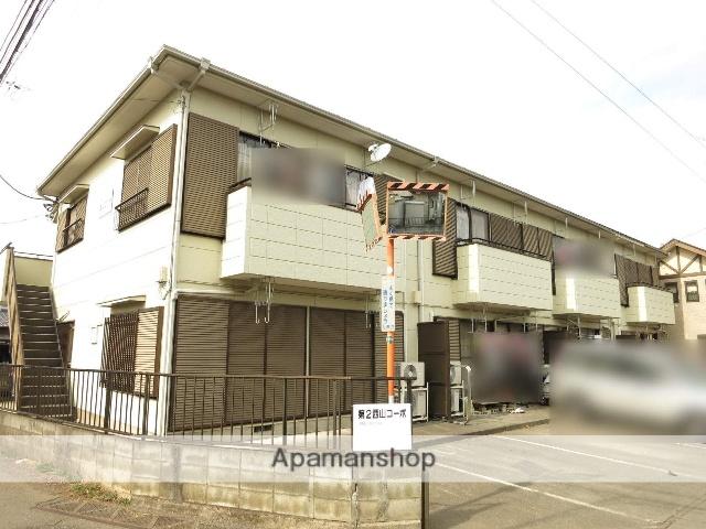 埼玉県入間市、入間市駅西武バスバス15分桂橋下車後徒歩3分の築23年 2階建の賃貸アパート