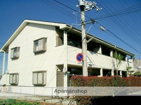 埼玉県入間市、武蔵藤沢駅徒歩21分の築24年 2階建の賃貸アパート