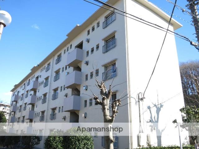 埼玉県入間市、稲荷山公園駅徒歩11分の築43年 5階建の賃貸マンション