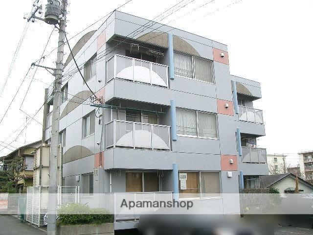 埼玉県入間市、仏子駅徒歩4分の築22年 3階建の賃貸マンション