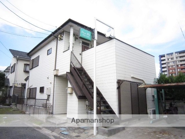 埼玉県入間市、入間市駅徒歩10分の築23年 2階建の賃貸アパート