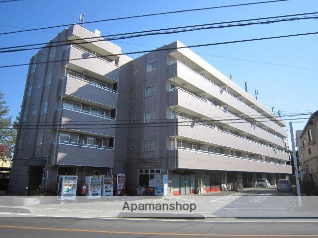 埼玉県狭山市、稲荷山公園駅徒歩8分の築16年 5階建の賃貸マンション
