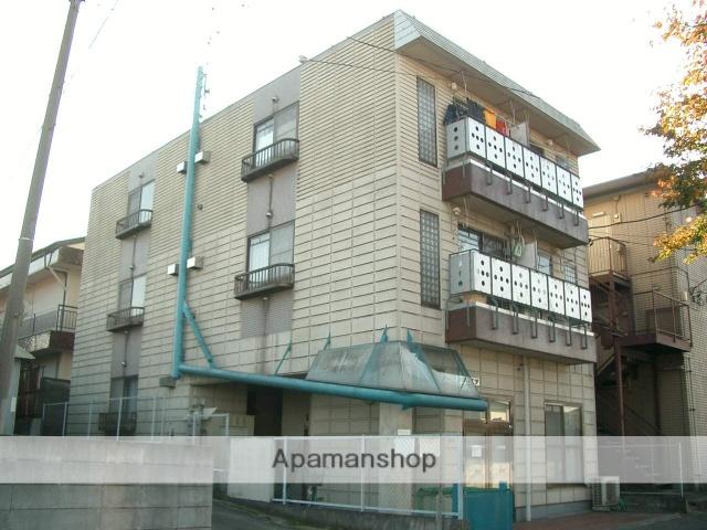 埼玉県入間市、入間市駅徒歩12分の築26年 3階建の賃貸マンション