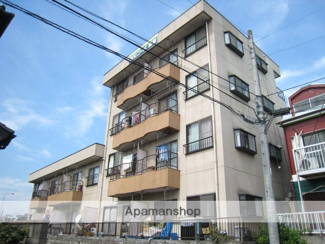 埼玉県飯能市、東飯能駅徒歩22分の築28年 4階建の賃貸マンション