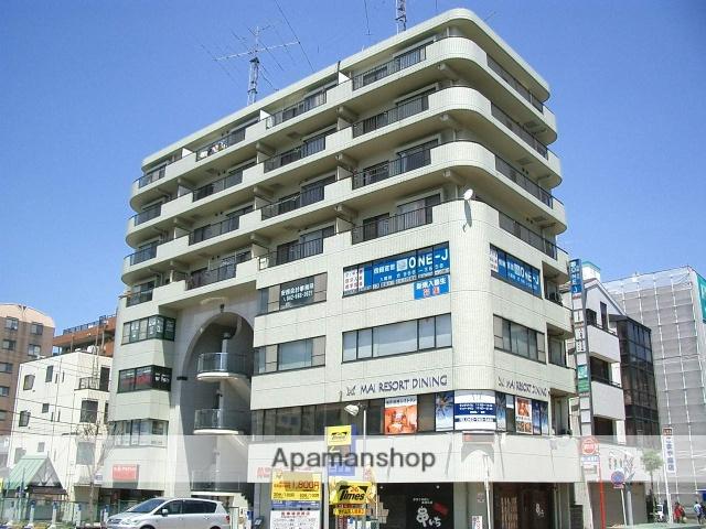 埼玉県入間市、入間市駅徒歩4分の築25年 8階建の賃貸マンション