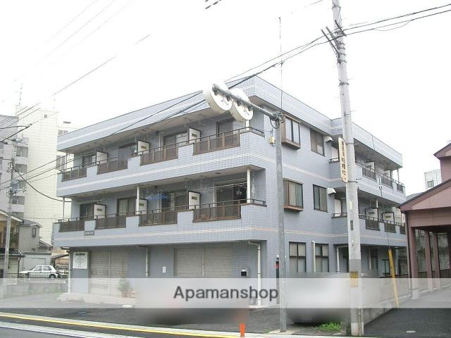 埼玉県入間市、稲荷山公園駅徒歩20分の築23年 3階建の賃貸マンション