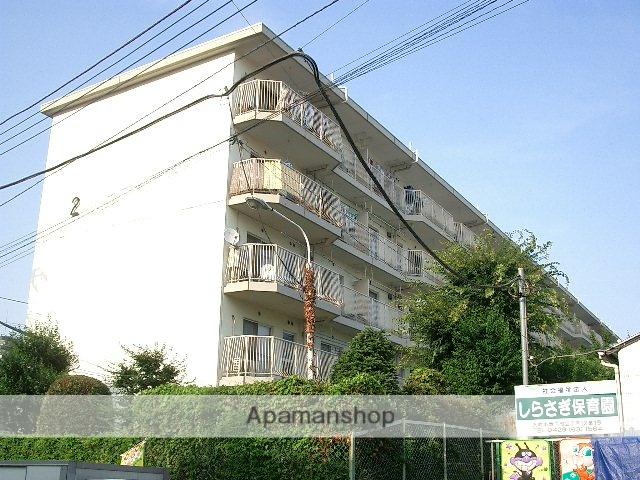埼玉県入間市、入間市駅徒歩12分の築40年 14階建の賃貸マンション