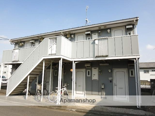 埼玉県入間市、武蔵藤沢駅徒歩8分の築22年 2階建の賃貸アパート
