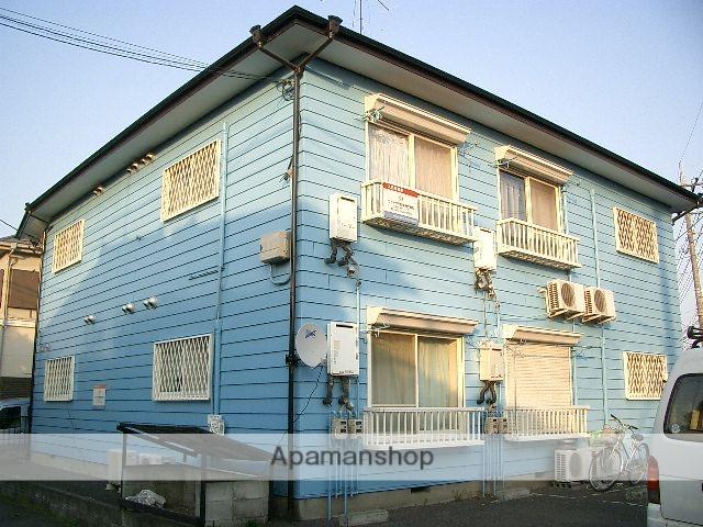 埼玉県入間市、武蔵藤沢駅徒歩3分の築27年 2階建の賃貸アパート