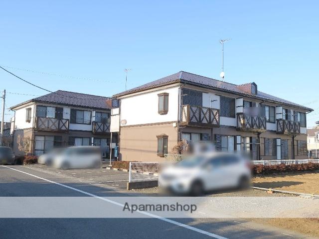 埼玉県入間市、武蔵藤沢駅徒歩5分の築24年 2階建の賃貸アパート