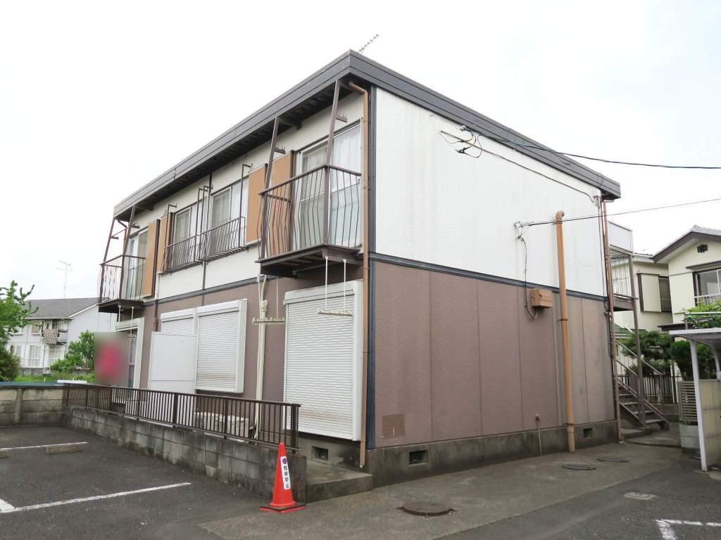 埼玉県飯能市、元加治駅徒歩5分の築32年 2階建の賃貸アパート