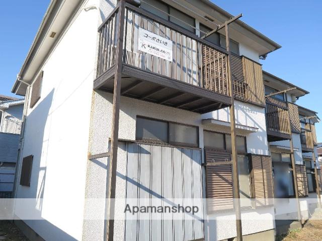 埼玉県入間市、武蔵藤沢駅徒歩3分の築33年 2階建の賃貸アパート