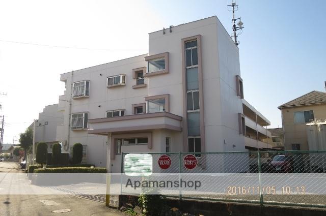 埼玉県狭山市、狭山市駅徒歩13分の築26年 3階建の賃貸マンション