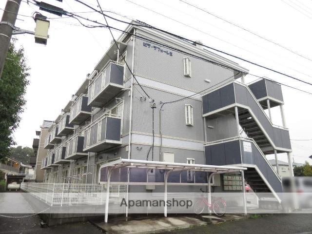 埼玉県入間市、狭山ヶ丘駅徒歩8分の築26年 3階建の賃貸アパート