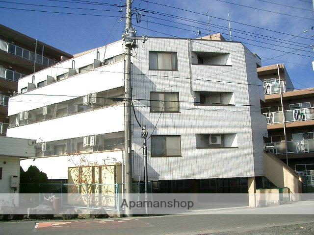 埼玉県入間市、武蔵藤沢駅徒歩25分の築27年 4階建の賃貸マンション