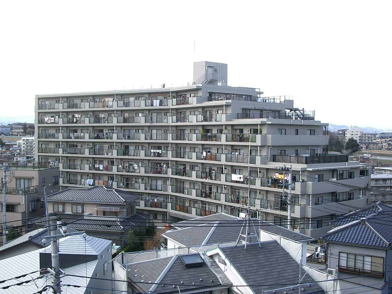 埼玉県入間市、入間市駅徒歩9分の築19年 10階建の賃貸マンション