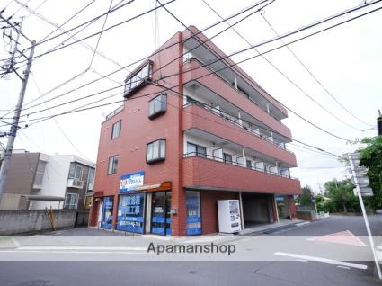 埼玉県狭山市、新狭山駅徒歩3分の築25年 4階建の賃貸マンション
