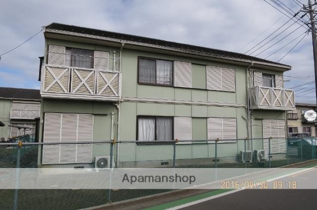 埼玉県狭山市、狭山市駅徒歩13分の築23年 2階建の賃貸アパート