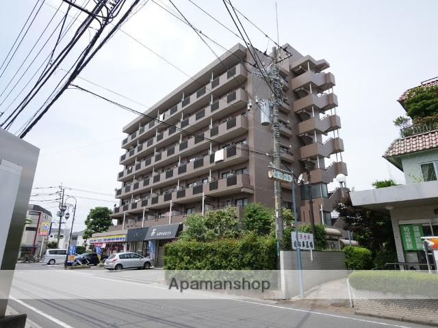 埼玉県狭山市、新狭山駅徒歩2分の築20年 7階建の賃貸マンション