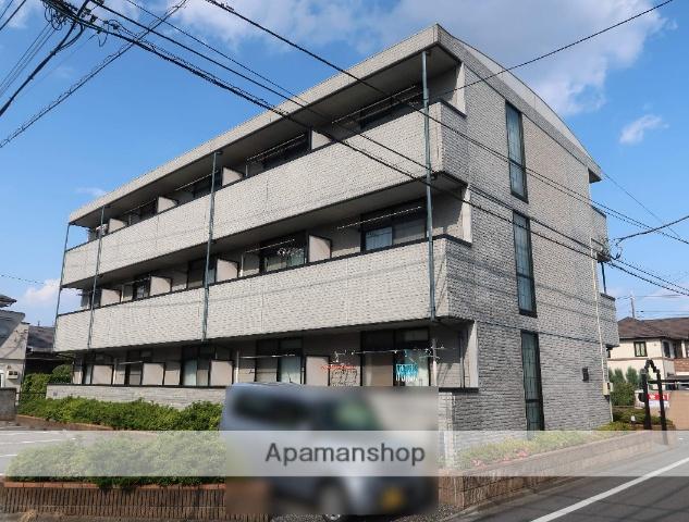埼玉県飯能市、東飯能駅徒歩10分の築17年 3階建の賃貸アパート