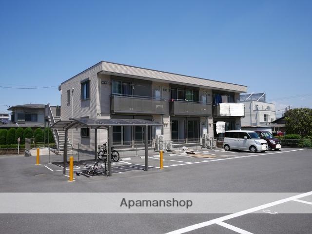埼玉県狭山市、稲荷山公園駅徒歩10分の築3年 2階建の賃貸アパート