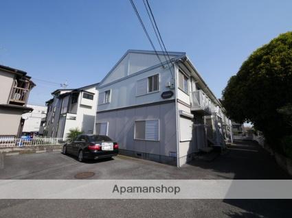 埼玉県狭山市、新狭山駅徒歩8分の築25年 2階建の賃貸アパート