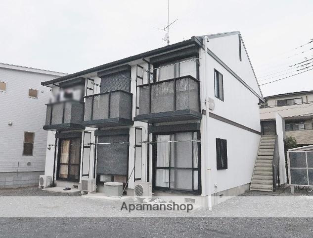 埼玉県飯能市、元加治駅徒歩8分の築22年 2階建の賃貸アパート