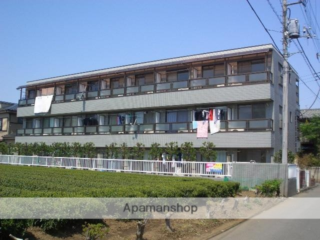 埼玉県狭山市、稲荷山公園駅徒歩29分の築26年 3階建の賃貸マンション