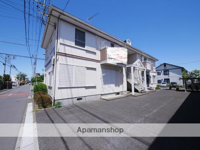 埼玉県狭山市、狭山市駅徒歩10分の築25年 2階建の賃貸アパート