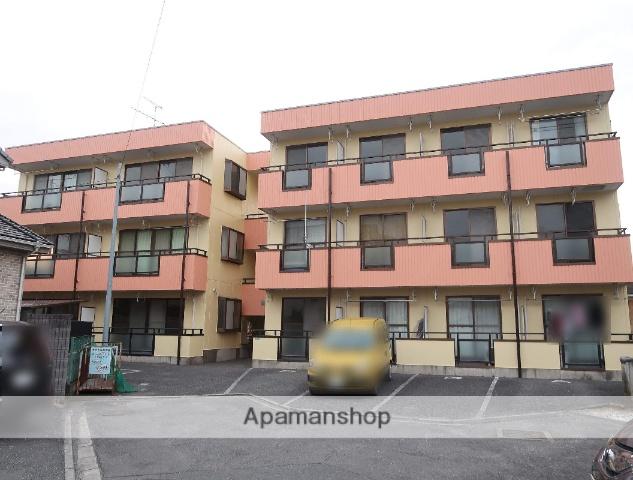埼玉県入間市、入間市駅徒歩18分の築23年 3階建の賃貸アパート