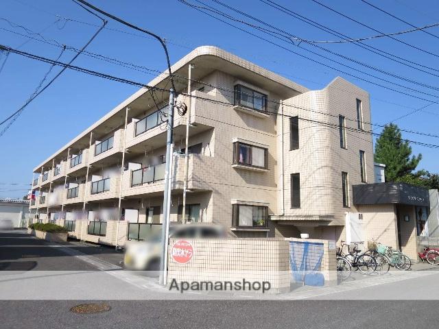 埼玉県入間市、武蔵藤沢駅徒歩16分の築23年 3階建の賃貸マンション
