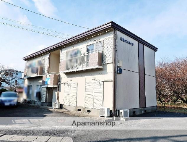 埼玉県入間市、元加治駅徒歩6分の築30年 2階建の賃貸アパート