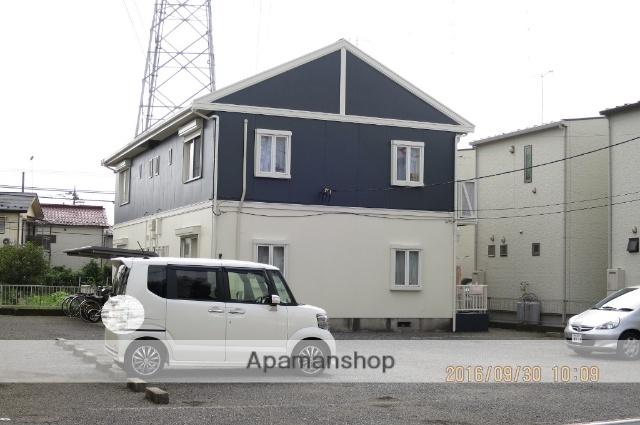 埼玉県狭山市、新狭山駅徒歩12分の築24年 2階建の賃貸アパート