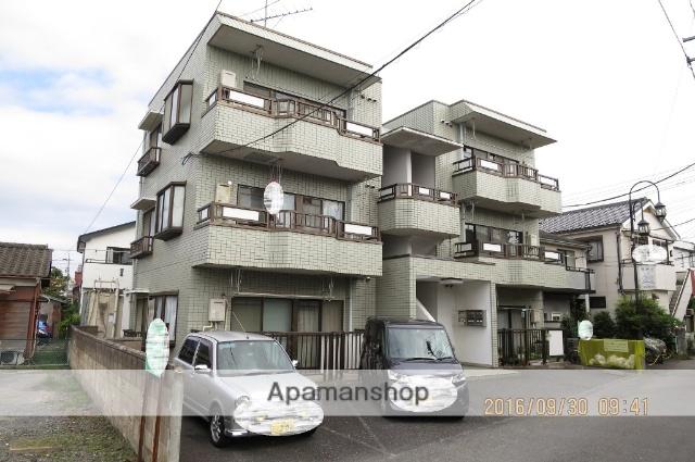 埼玉県狭山市、新狭山駅徒歩4分の築28年 3階建の賃貸マンション