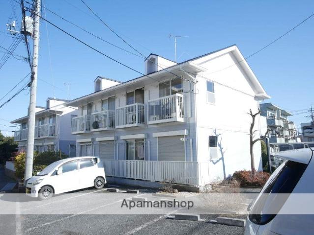 埼玉県狭山市、新狭山駅徒歩4分の築26年 2階建の賃貸アパート
