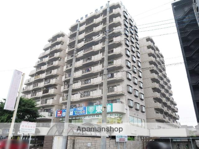 埼玉県飯能市、飯能駅徒歩2分の築28年 11階建の賃貸マンション