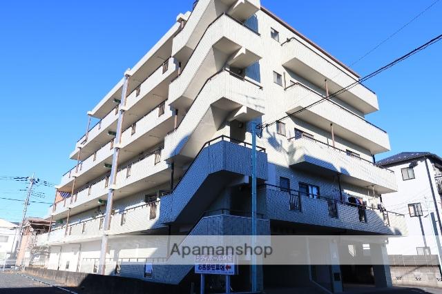 埼玉県飯能市、東飯能駅徒歩5分の築25年 5階建の賃貸マンション