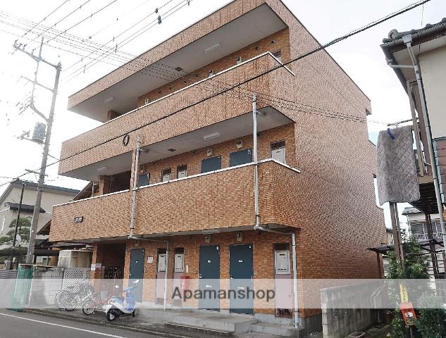 埼玉県飯能市、東飯能駅徒歩13分の築27年 3階建の賃貸マンション