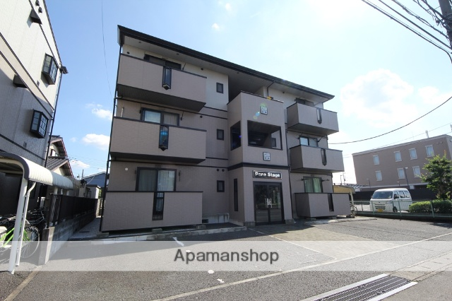 埼玉県狭山市、狭山市駅徒歩9分の築18年 3階建の賃貸アパート