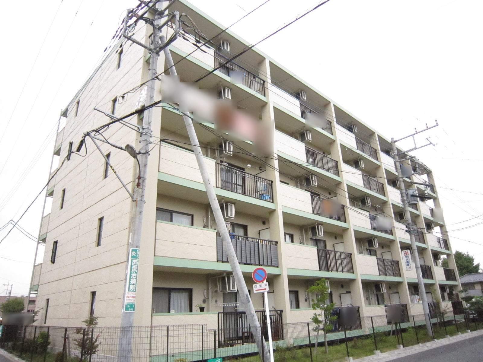 埼玉県入間市、仏子駅徒歩2分の築9年 5階建の賃貸マンション