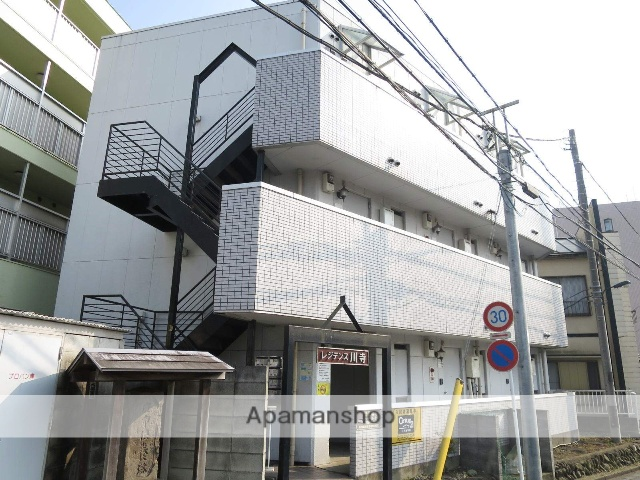 埼玉県飯能市、飯能駅徒歩6分の築29年 3階建の賃貸マンション