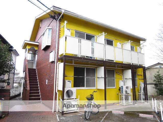 埼玉県入間市、仏子駅徒歩14分の築27年 2階建の賃貸アパート