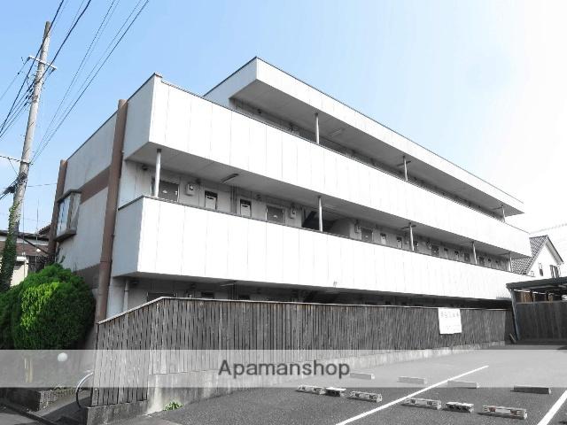 埼玉県飯能市、東飯能駅徒歩8分の築23年 3階建の賃貸マンション
