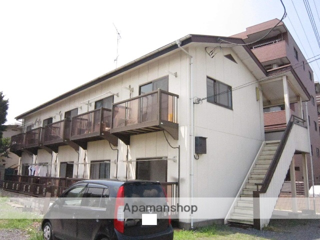 埼玉県入間市、仏子駅徒歩4分の築26年 2階建の賃貸アパート