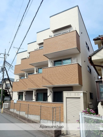 埼玉県入間市、武蔵藤沢駅徒歩7分の新築 3階建の賃貸アパート